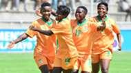 Grace Chanda and Zambia's Shepolopolo