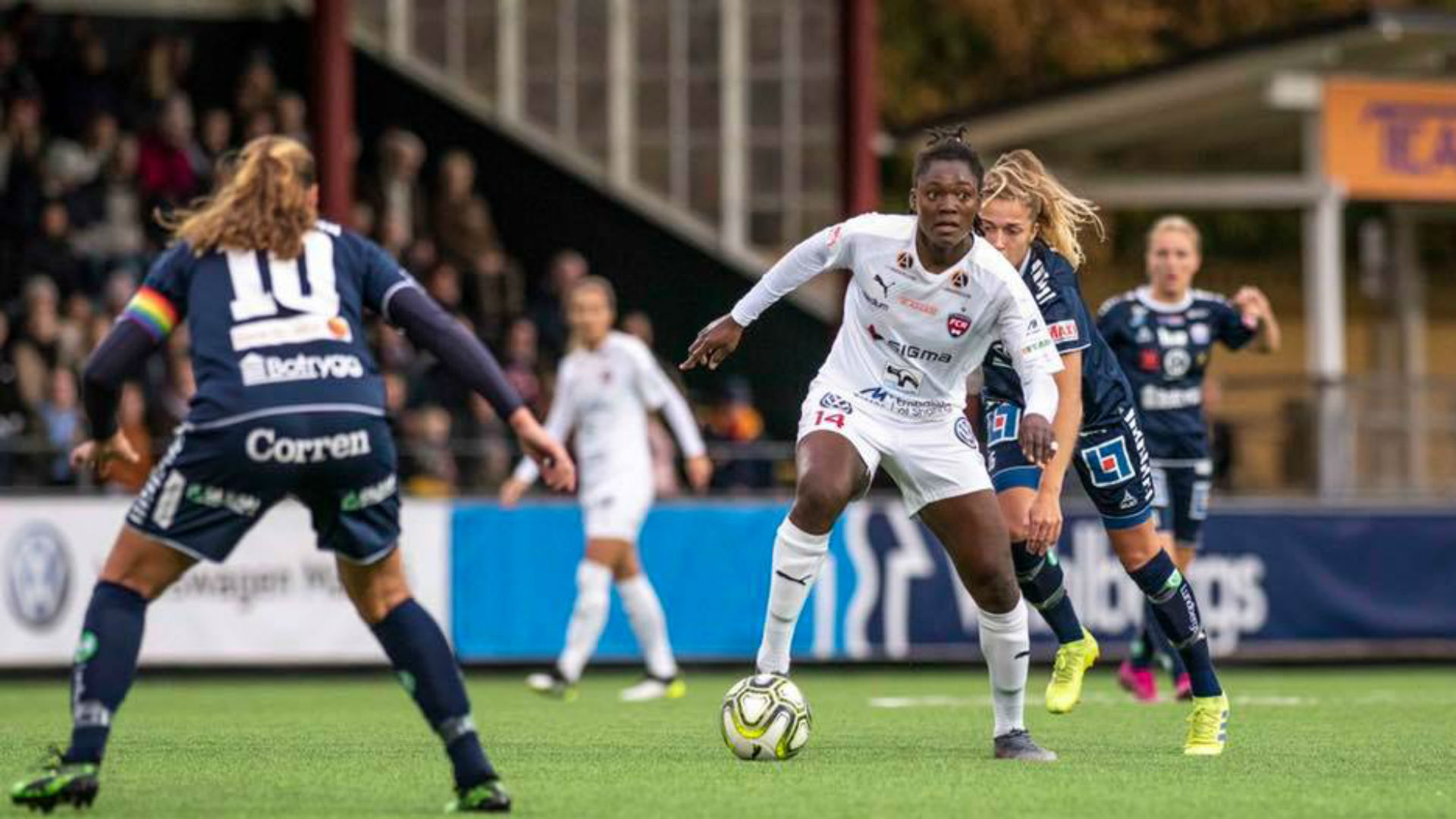 Anam Imo scores first goal of the season in Rosengard victory over Djurgarden