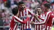Diego Costa, Joao Félix, Morata y Koke, Atlético de Madrid