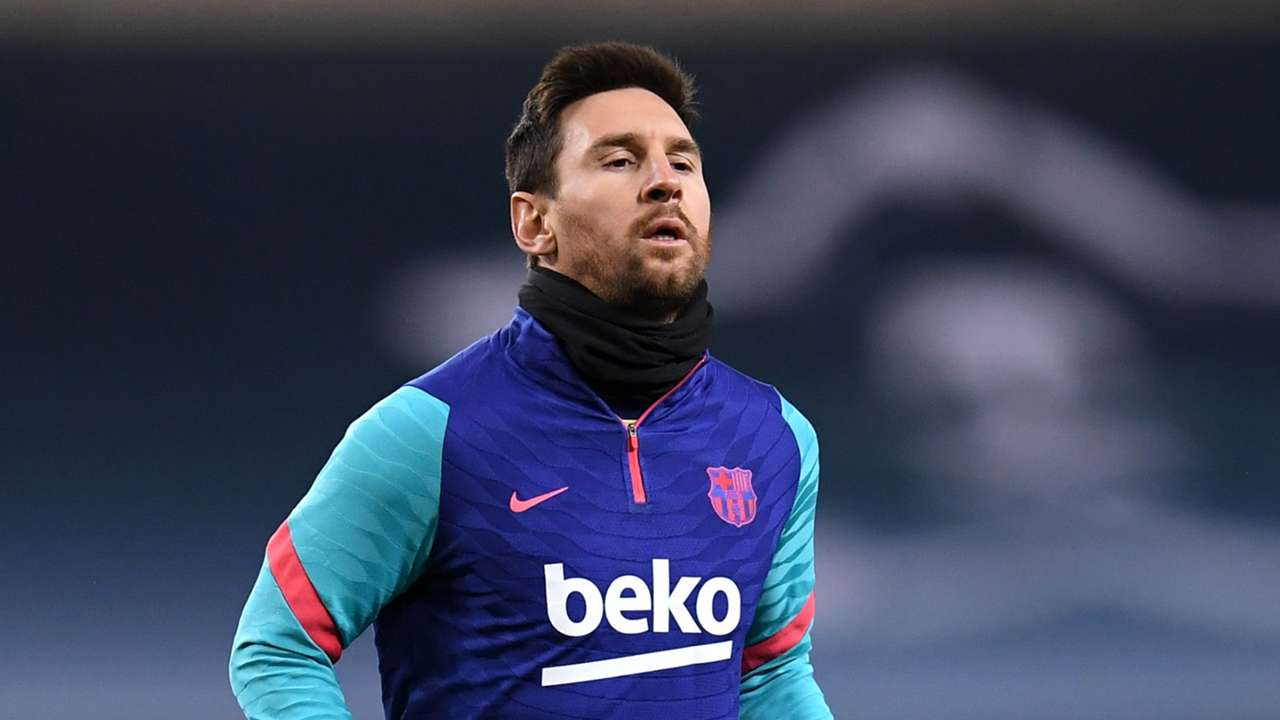 Lionel Messi Barcelona vs Athletic Club 2020-21