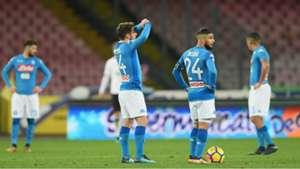 Napoli celebrating Napoli Atalanta Coppa Italia