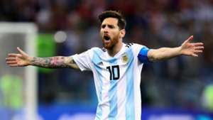Lionel Messi Argentina Croatia World Cup 2018 210618