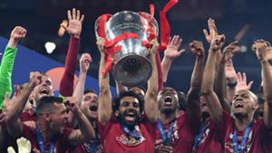 Mohamed Salah Champions League trophy 2019