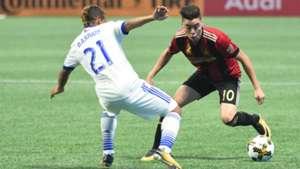 Miguel Almiron Atlanta United Michael Barrios FC Dallas