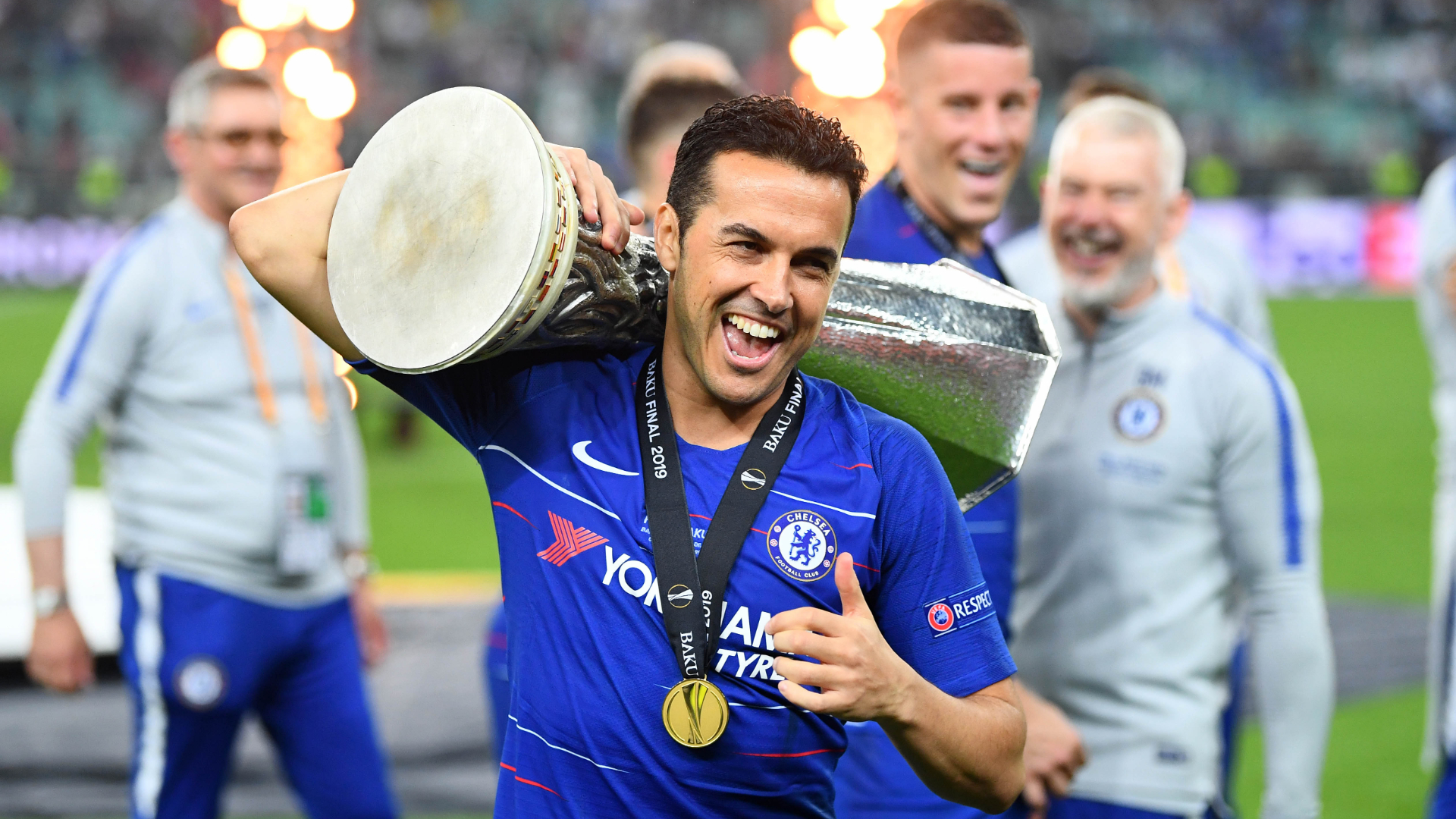 Chelsea 4-1 Arsenal: Pedro sets new mark with unparalleled trophy haul after Europa League triumph | Goal.com