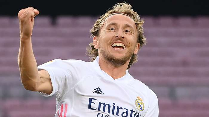 Luka Modric Real Madrid 2020-21