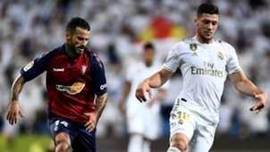 Luka Jovic Ruben Garcia Real Madrid Osasuna LaLiga 29092019