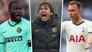 Lukaku Conte Eriksen Inter Spurs GFX