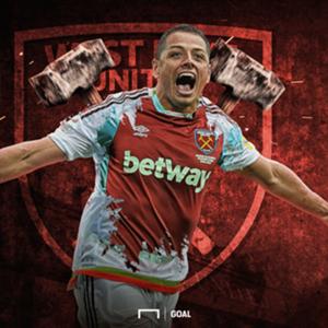 EMBED ONLY Javier Hernandez West Ham GFX
