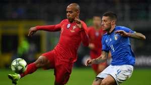 Joao Mario Cristiano Biraghi Italy Portugal UEFA Nations League 11172018