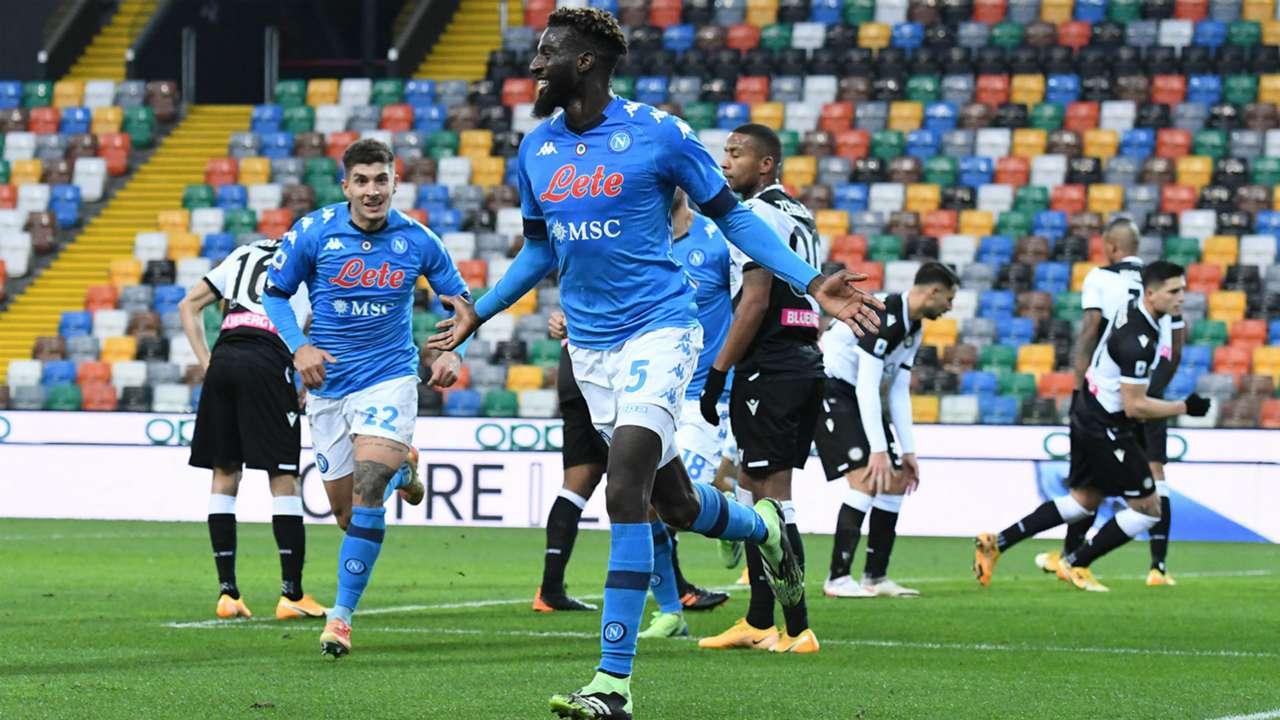 Tiemouè Bakayoko Udinese Napoli