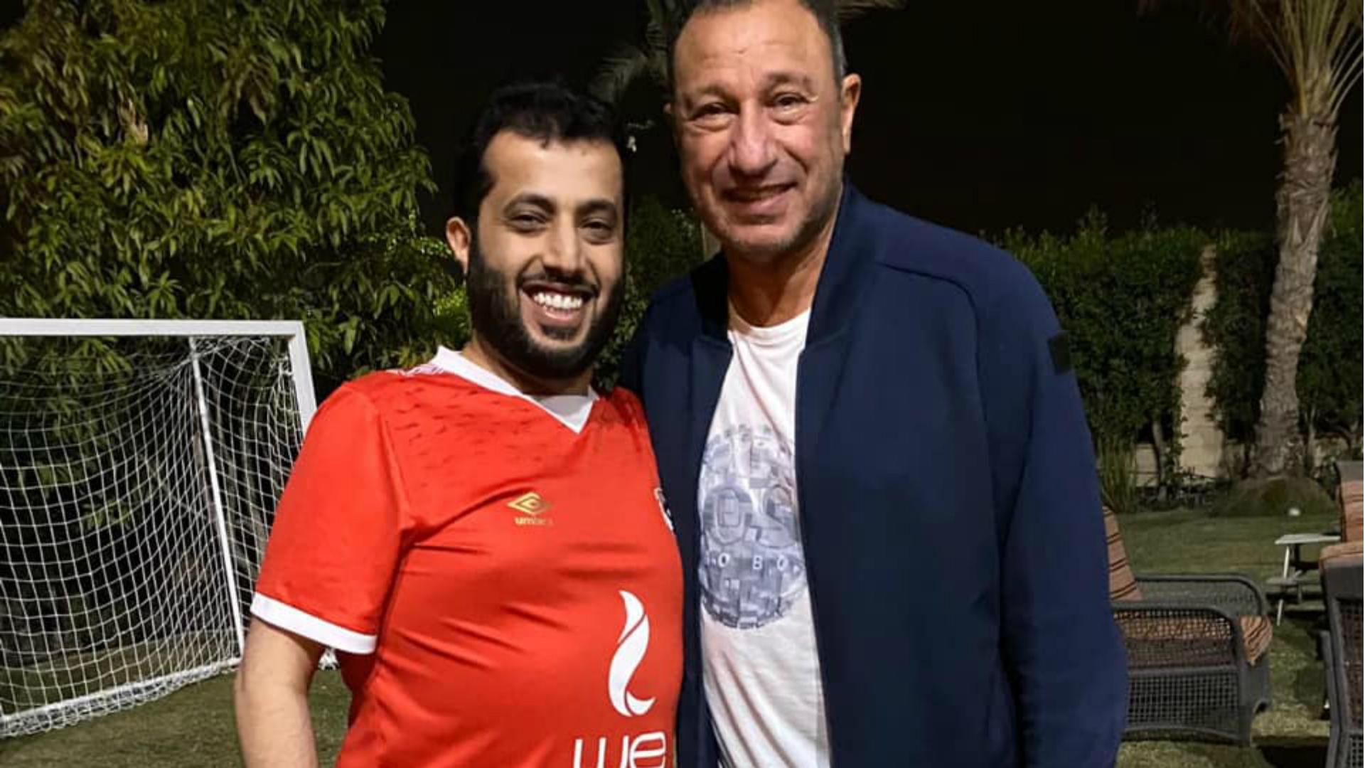 الأهلي يدعم تركي آل الشيخ في مرضه Goal Com