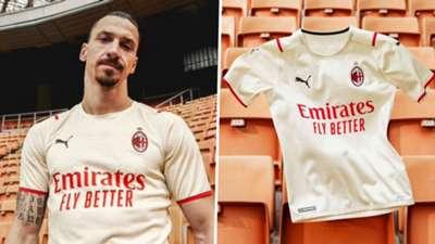 AC Milan away kit 2021-22 Puma