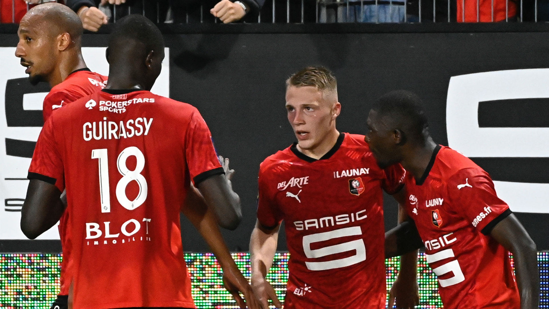 Abdelhamid and Dia score as Reims hold Rennes