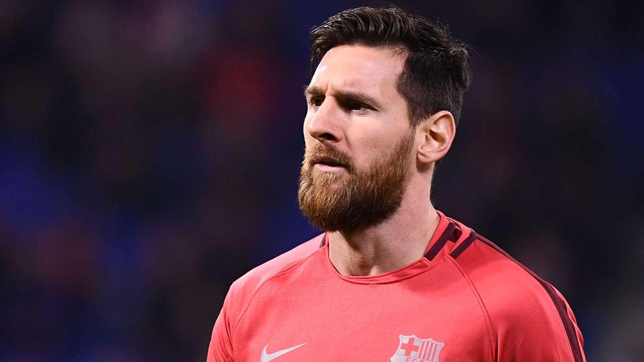 Lionel Messi Barcelona Training