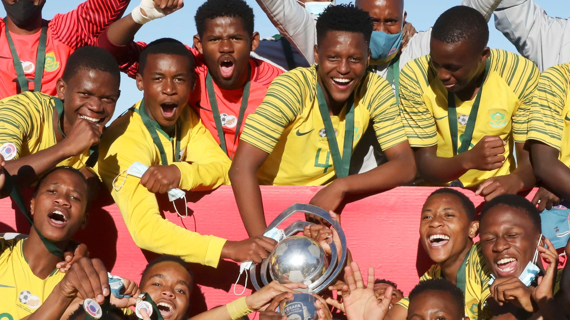 South Africa qualify for 2021 Under-17 Afcon as Cosafa champions