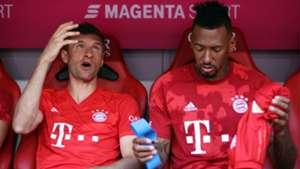 Thomas Muller Jerome Boateng Bayern Munchen 2019.