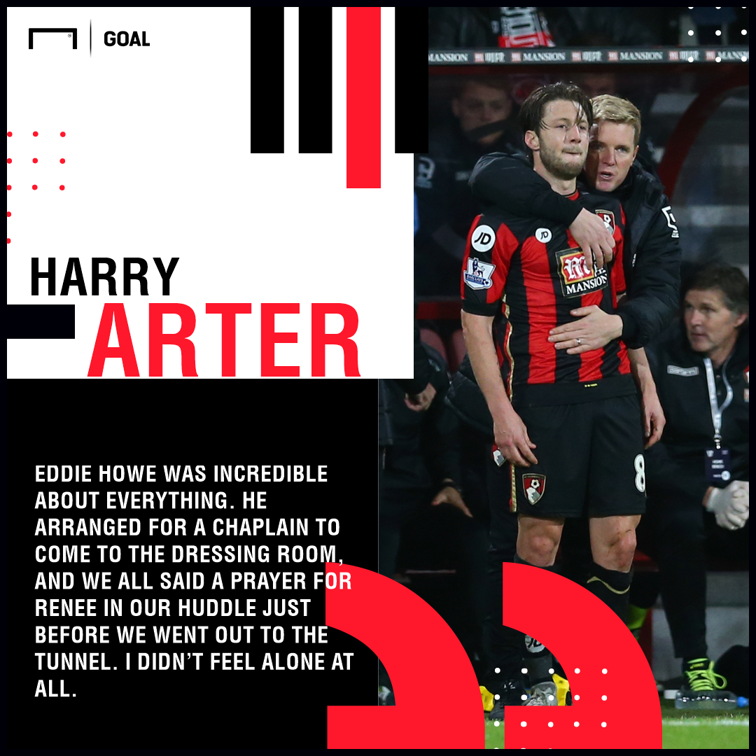Harry Arter Eddie Howe PS