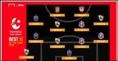 Best XI : ทีมยอดเยี่ยม โตโยต้า ไทยลีก ฤดูกาล 2019