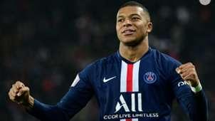 Kylian Mbappe PSG Marseille Ligue 1 27102019