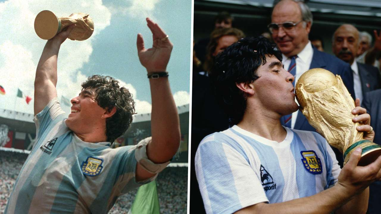 Diego Maradona 1986 GFX
