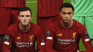 Andy Robertson Trent Alexander-Arnold Liverpool 2019-20