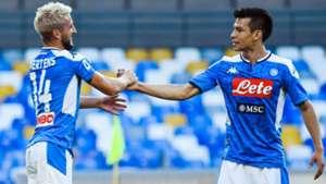 Dries Mertens Hirving Lozano Napoli