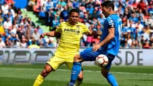 Carlos Bacca Villarreal Jorge Molina Getafe 2018-19