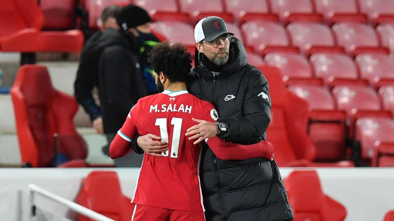 Mohamed Salah Jurgen Klopp Liverpool