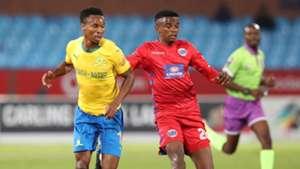 Themba Zwane, Sundowns & Teboho Mokoena, SuperSport United, April 2019