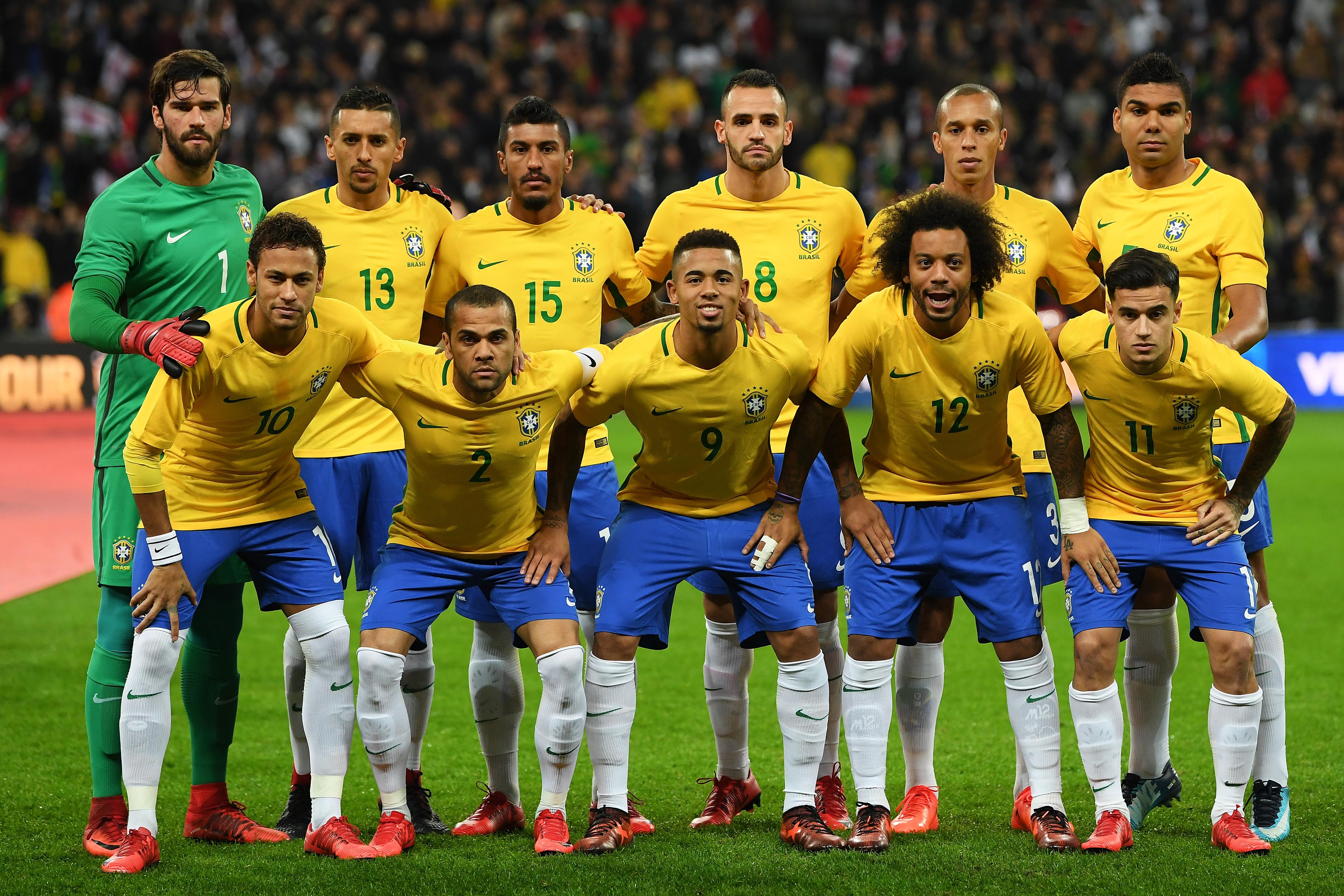 Brazil team England 14112018