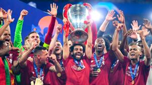 Mohamed Salah Champions League 2018-19 Liverpool
