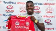 Simba SC strike Luis Jose Miquissone.