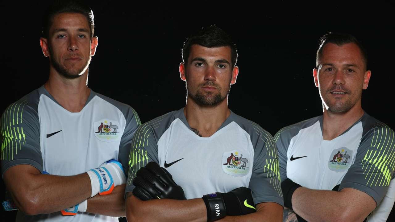 Socceroos goalkeepers
