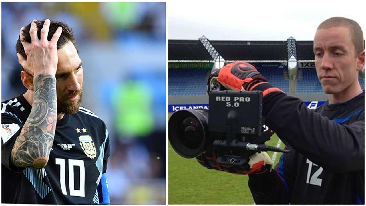 Lionel Messi director split