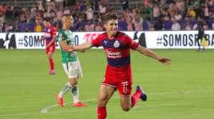 Isaac Brizuela Chivas vs León Liga MX