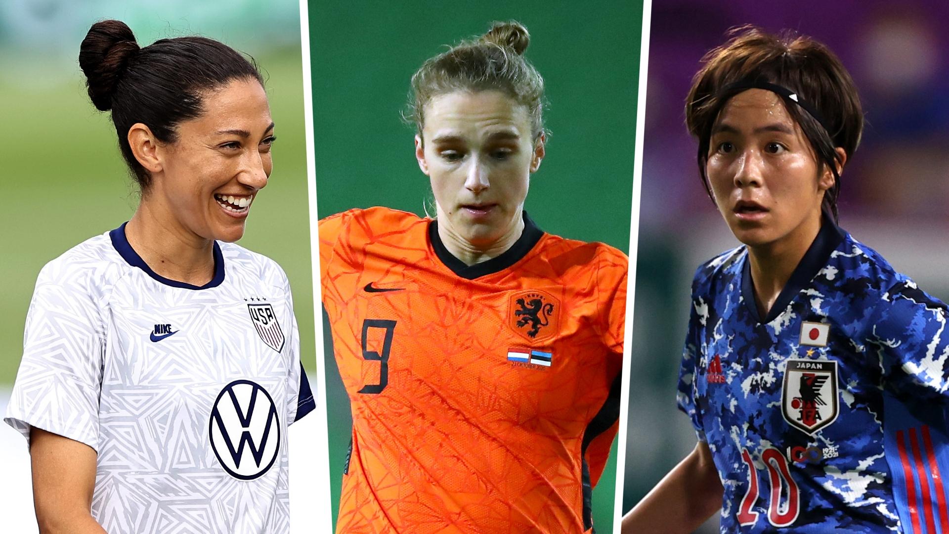 Press, Miedema & 15 women's football stars to watch at Tokyo 2020