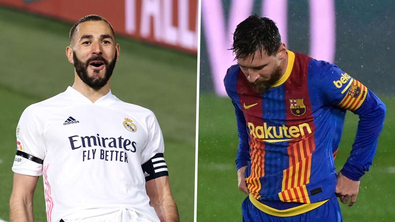 Karim Benzema Lionel Messi Real Madrid Barcelona GFX