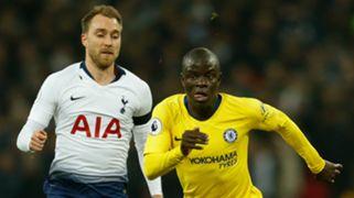 N'Golo Kante Tottenham vs Chelsea Premier League 2018-19