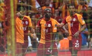 Eren Derdiyok Henry Onyekuru Fernando Reges Galatasaray Alanyaspor Super Lig 08/27/18