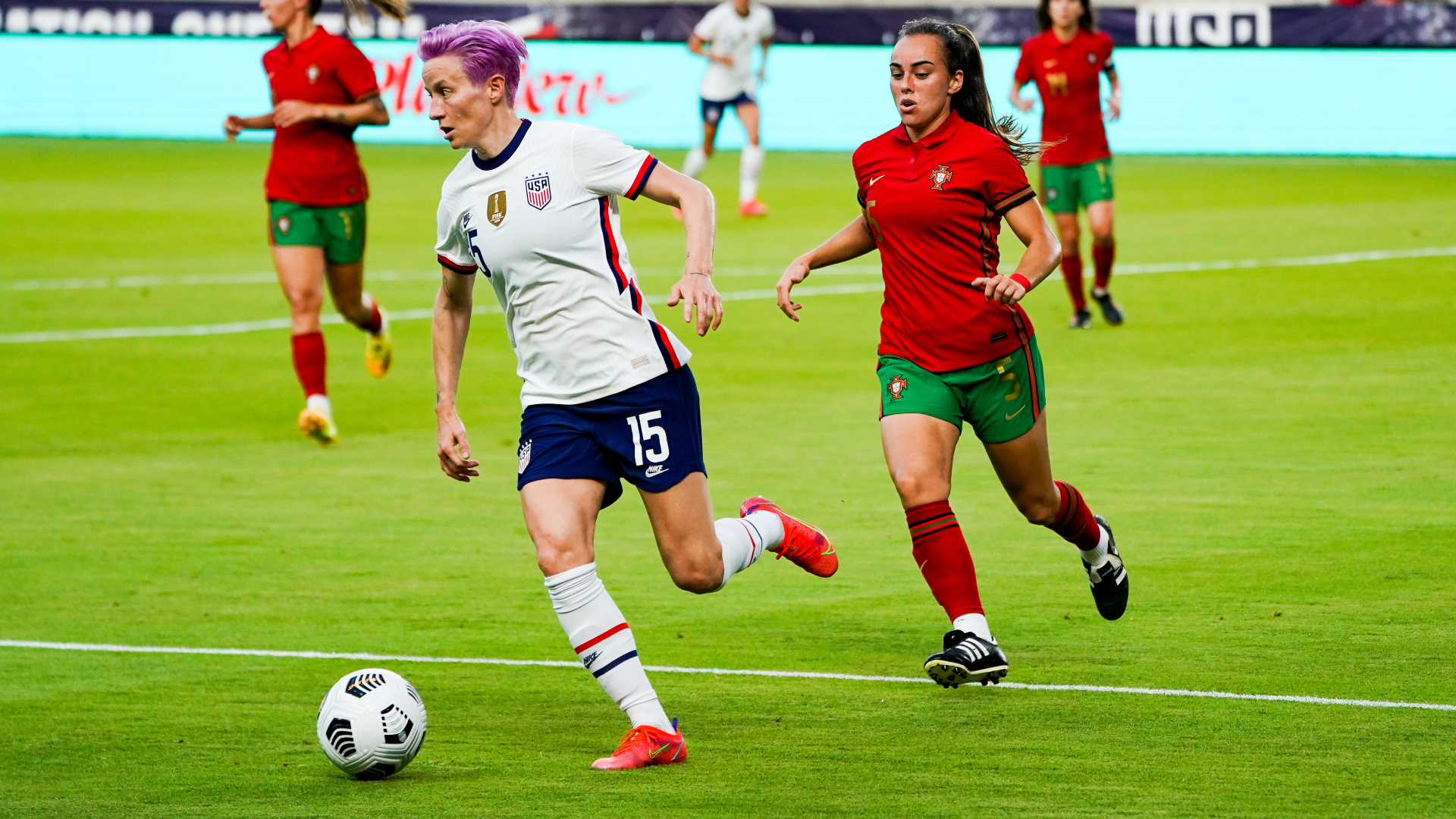 USWNT frustrated but victorious as determined Portugal takes pre-Olympic test
