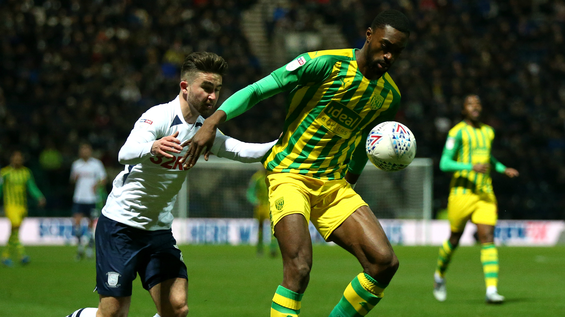 Ajayi, Aina, Lookman, Adarabioyo feature as West Bromwich Albion hold Fulham