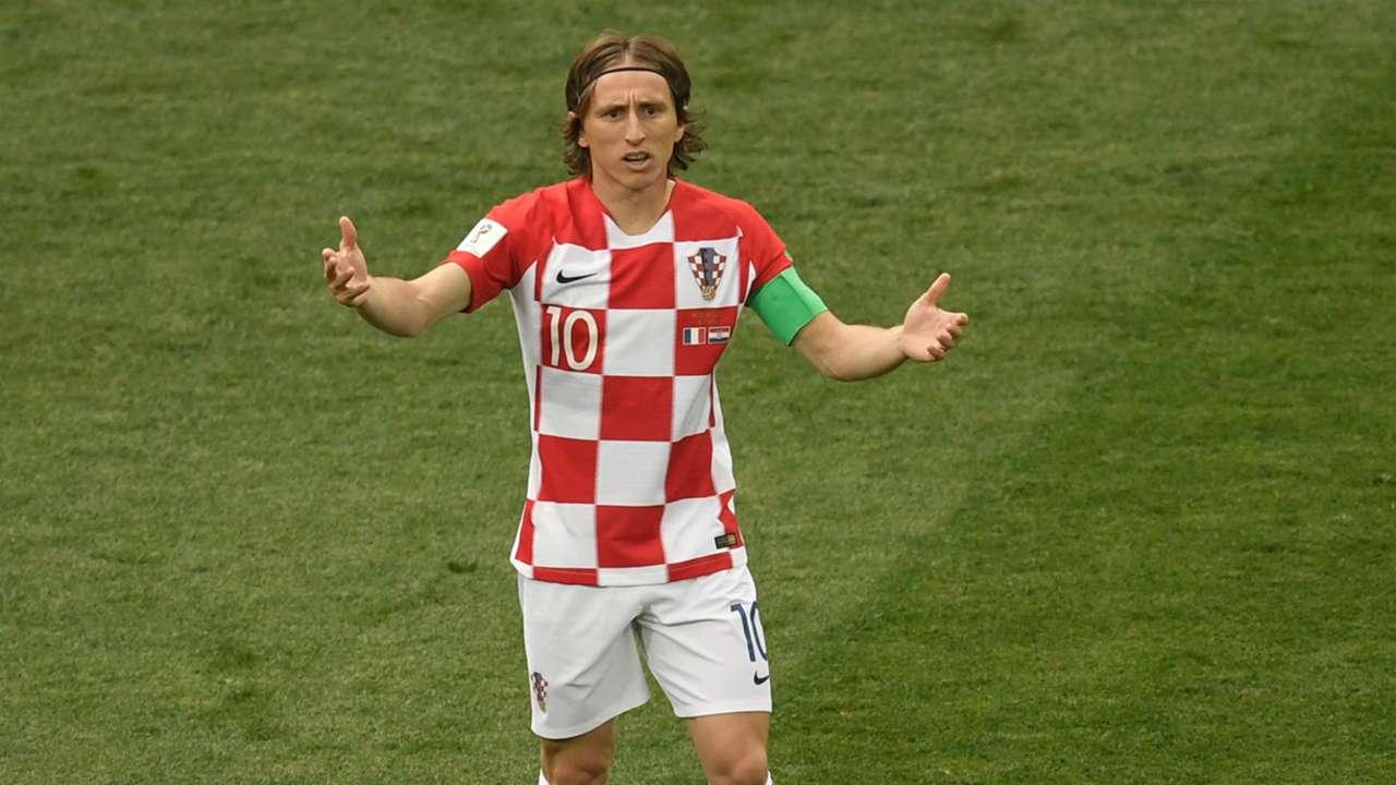 Luka Modric France Croatia World Cup final 2018