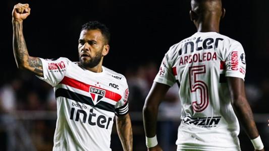 Daniel Alves São Paulo LDU Libertadores 11 03 2020
