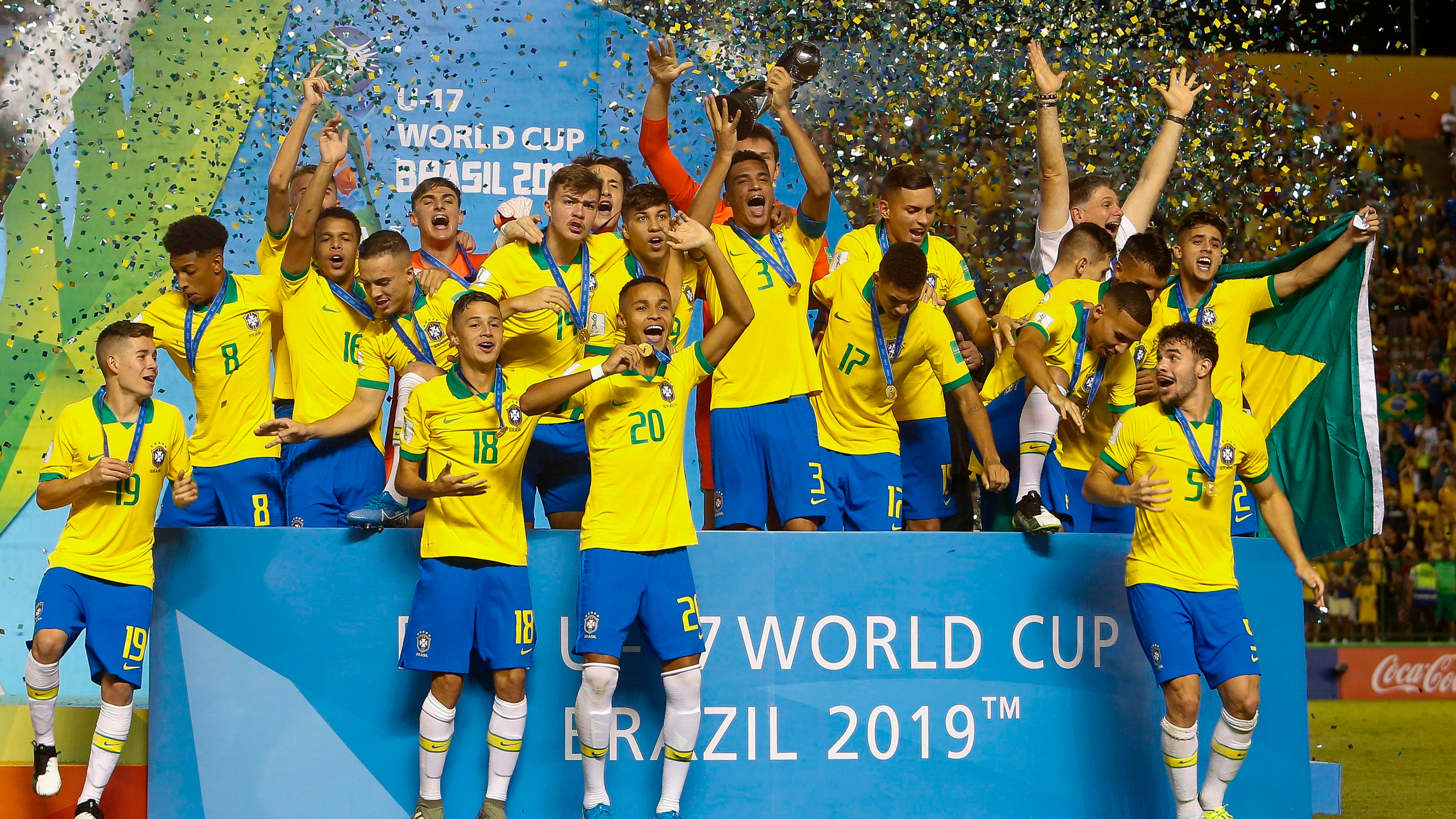 Brazil win U-17 World Cup title with dramatic win over Mexico