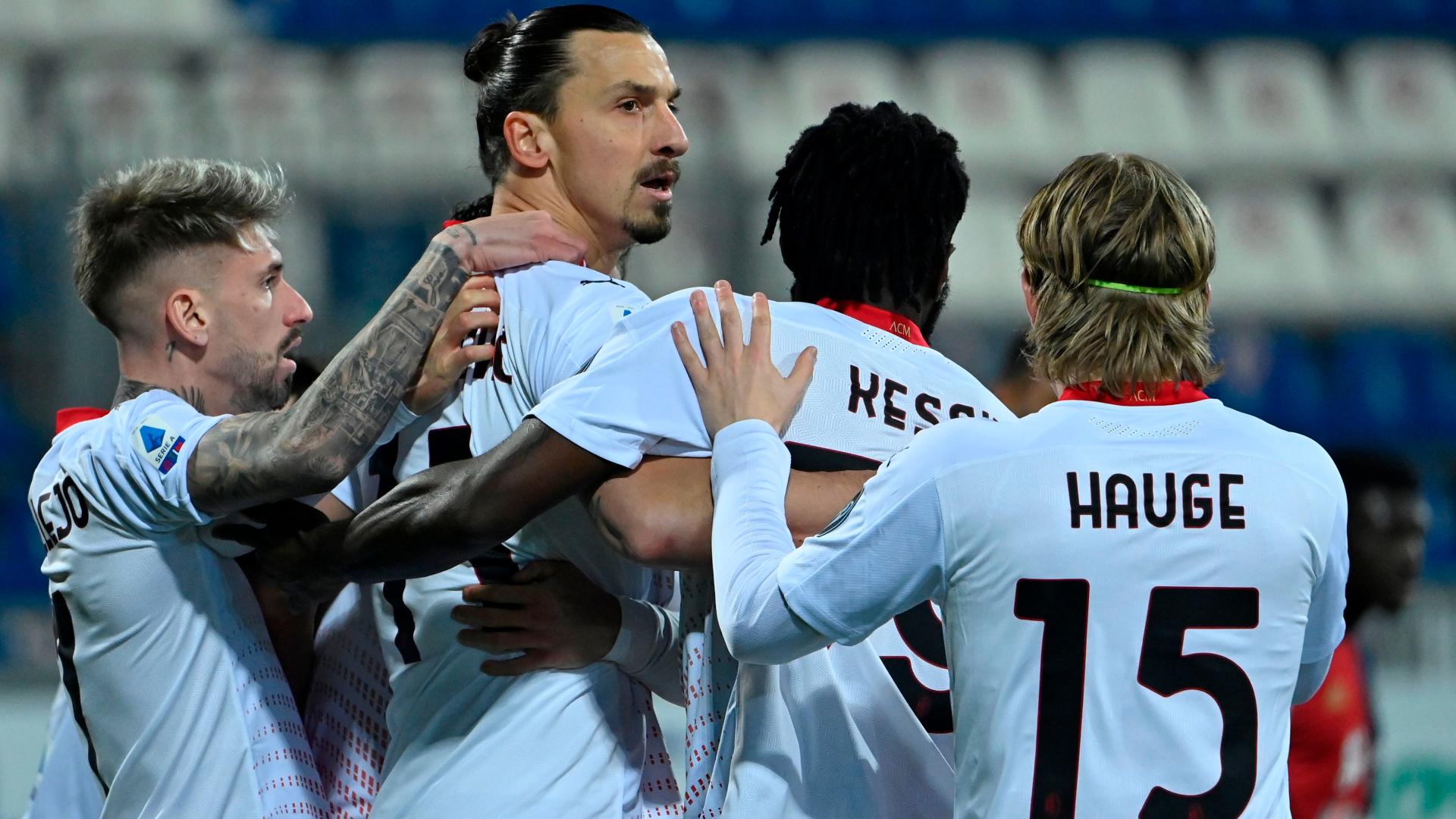 Zlatan heureux pour Mandzukic — Milan