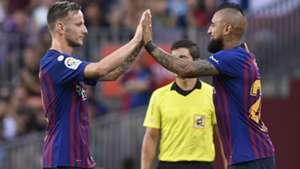 020918 Barcelona Huesca Arturo Vidal Ivan Rakitic