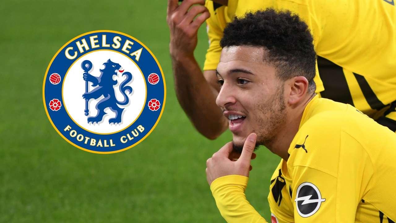 Jadon Sancho Dortmund BVB Chelsea