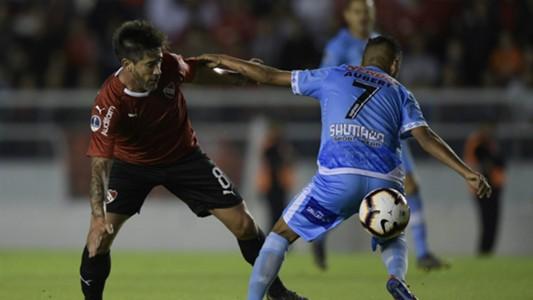 Pablo Perez Independiente Binacional Copa Sudamericana Primera Fase Partido Ida