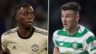 Aaron Wan-Bissaka Kieran Tierney Man Utd Celtic